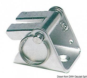 Dispositivo di sicurezza Chain Stopper Delux in lamiera stampata + microfusione.