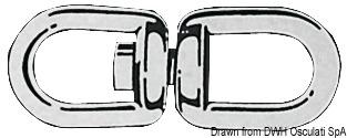 Girella zincata 10 mm