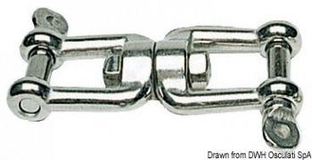 Girella in acciaio inox AISI 316 lucidate a specchio