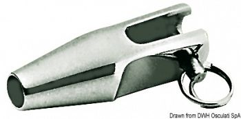 Terminale a forcella in acciaio inox AISI 316 per terminazione cavo acciaio inox della lifeline