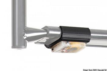 Luce per scaletta gradino standard 38 mm 2 pz