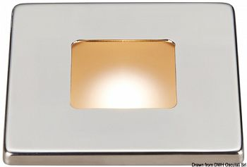 Plafoniera LED ad incasso ridotto Bos