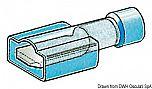 Faston completamente preisolato da 4,7 mm e 6,3 mm