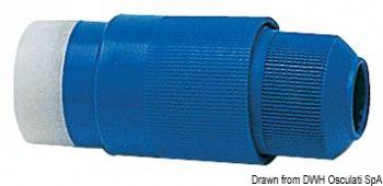 Spina 30 A 220 V blu