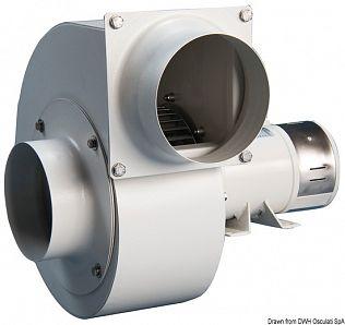 Ventilatore centrifugo acc. 24 V 0,12 KW 6 A LD