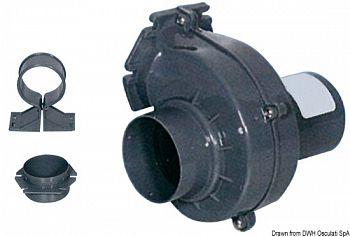 Aspiratore gas 12 V 150 m³/h 3 A