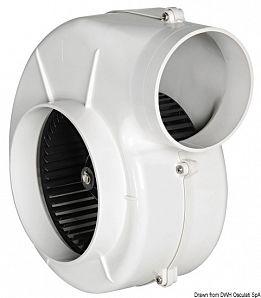 Aspiratore centrifugo per fissaggio con staffa, omologato RINA