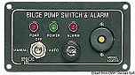 Pannello di controllo per pompe di sentina elettriche