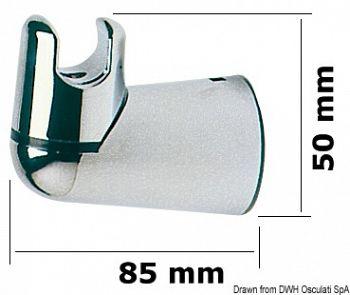 Supporto doccia girevole a parete
