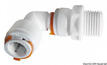 Raccordi rapidi per impianti idrici KP Ø 12 mm