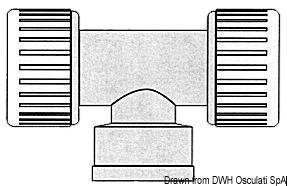 Sistema Hydrofix di raccordi per impianti idrici, adatti per temperatura massima 70°