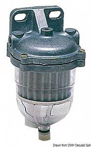 Filtro decantatore per gasolio 130-400 l/h