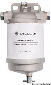 Filtro gasolio tipo CAV con spurgo