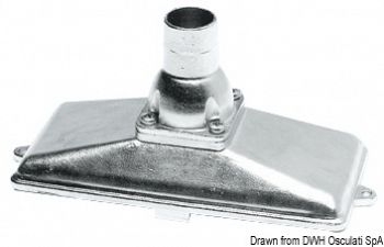 Succhiarola inox Ø 25 mm verticale