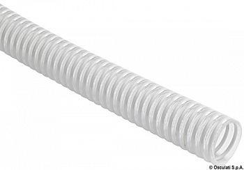 Tubo con spirale in PVC bianco 20 mm