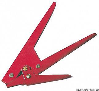 Utensile per tensionare e tagliare le fascette