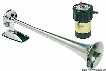 Tromba Fiamm Bora 12 V con compressore