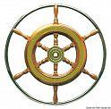 Ruote timone classiche con cerchio esterno in acciaio inox