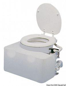 Serbatoio acque nere conformato per WC