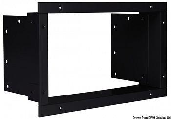 Cornice fissaggio nera per frigorifero 50.826.15